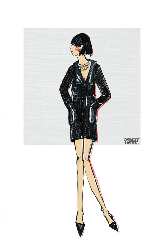 Chanel jacket-dress